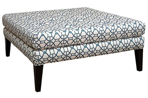 teal ottoman coffee table bella teal square cocktail ottoman for rent brook