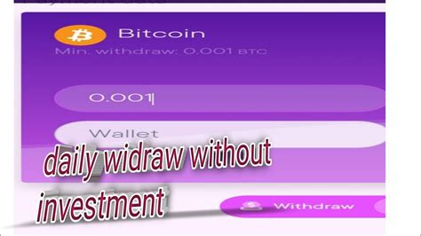 The reward up to 0.01 btc for the luckiest members. new Bitcoin earning website without investment - YouTube