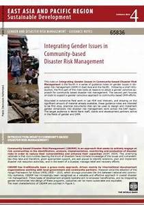 Integrating Gender Issues in Community-Based Disaster Risk ...
