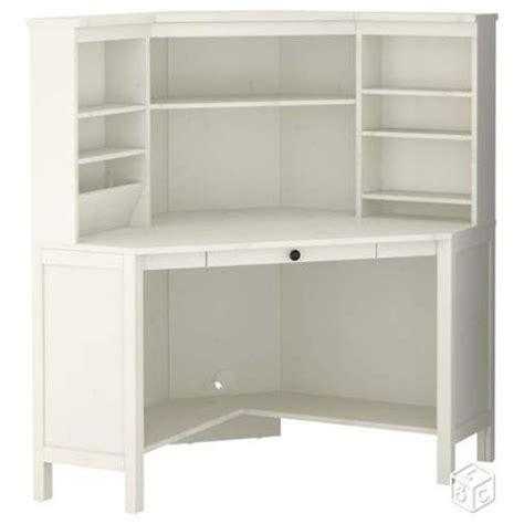 ikea bureau blanc bureau d 39 angle ikea blanc achat vente neuf d 39 occasion