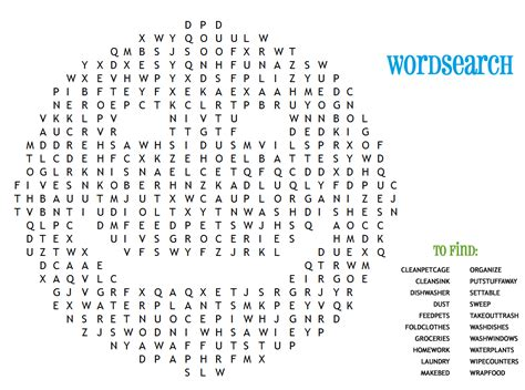 fun word searches for kids activity shelter