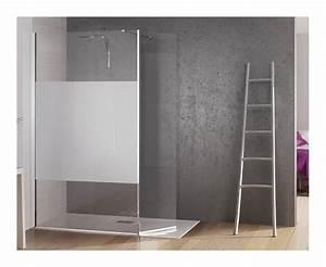 Ecrans et parois de douche comparez les prix pour for Porte d entrée alu avec salle de bain avec receveur extra plat
