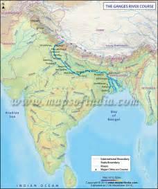 Ganges River Map
