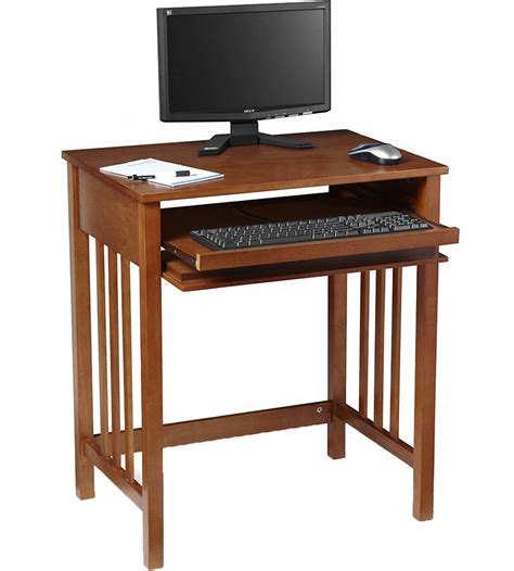 compact wood computer desk  kids desks