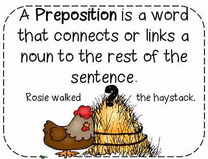 Preposition Prepositions Grade Unit Activities Leprechauns Definition