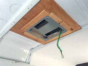 Adding A Rear Rooftop Ac To A Sprinter Van