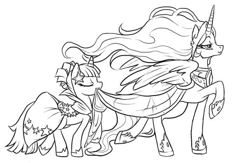 My Little Pony The Movie Printable Coloring Pages