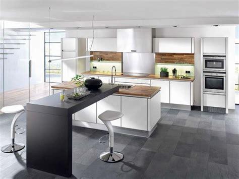 cuisine contemporaine avec ilot central cuisine lino central cuisine en image