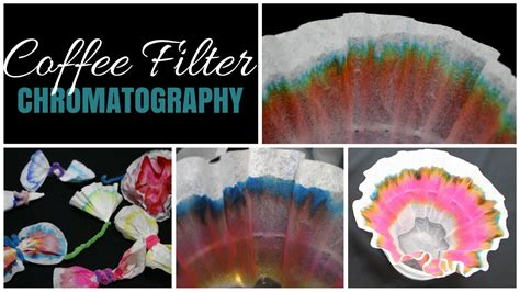 COFFEE FILTER CHROMATOGRAPHY - YouTube
