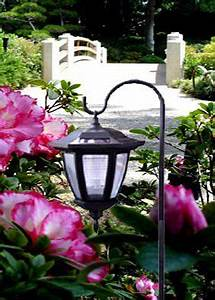 Bronze Solar Stake Lights Shepherd Hook Solar Lights Home Ideas