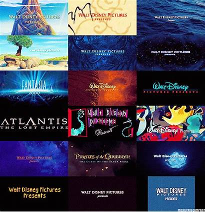 Title Cards Disney Movies