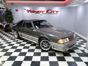 91 Ford Mustang GT 5.0 Stock Only 38k Miles Cobra Wheels Adult Owned Rare Color! - Classic Ford ...