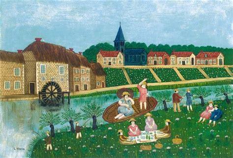 le dejeuner sur l herbe louis vivin wikiart org encyclopedia of visual arts
