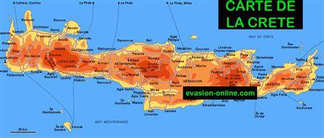 Carte Du Monde Grece Crete by La Crete Carte Carte 2018