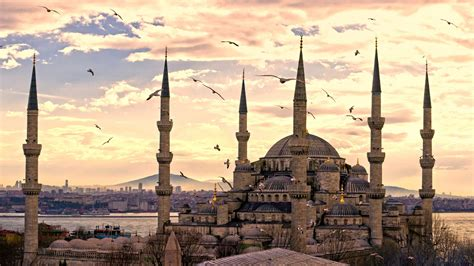 full hd wallpaper hagia sophia istanbul overcast travel