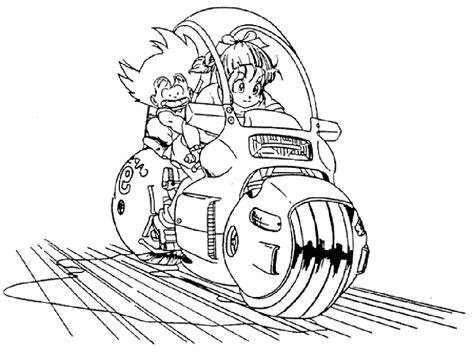 Colorea Dragon Ball 】 Dibujos Para Pintar Degokunet