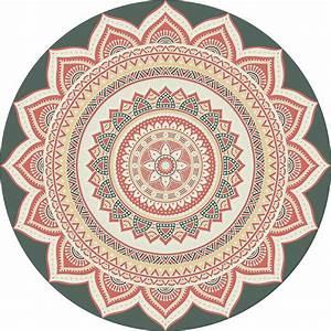 Tapis Rond Mandala : tapr0265 ~ Teatrodelosmanantiales.com Idées de Décoration