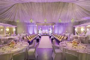Uplighting Adds Soft Shades Of Color To A Wedding