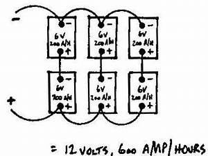 battery wiring otherpower With wiring 4 6v batteries in series