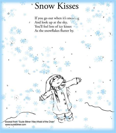 snow kisses poem children s poem for winter great for 712 | 771a56459b51699d0e8fe68f815054f8