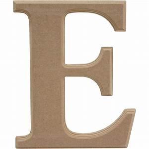 Wooden Letter E 27 Cm Hobbycraft