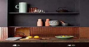 Crédence Carreaux De Ciment Adhesif : la cr dence inspire des id es d co pour la cuisine ~ Premium-room.com Idées de Décoration
