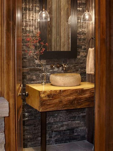 si鑒e salle de bain 15 idées intéressantes pour ceux qui aimeraient avoir une salle de bain rustique bricobistro