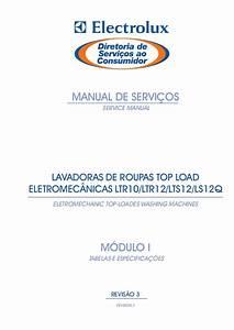 Manual De Servi U00e7os Eletrolux Ls12 Q E Ltr10 E Ltr12 E Lts12