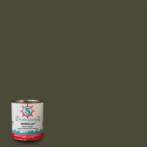 Slick Aluminum Boat Paint by Duralux Marine Paint 1 Qt Aluminum Boat Green Marine