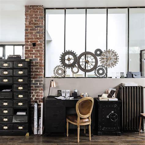 bureau industriel maison du monde style industriel réussir style factory