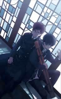 Blue Exorcist Rin and Yukio Okumura