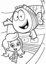 Bubble Guppies Coloring Pages Print Dora sketch template