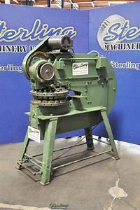 Used Wiedemann  Power  Turret Punch Press  1  4 U0026quot