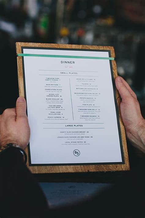 evaluate  menu design  boost profits