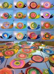 Preschool Snail Art Projects