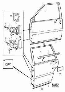 Volvo 940 Se Adjusting Washer  Body Frame  Door  Thk 0 3