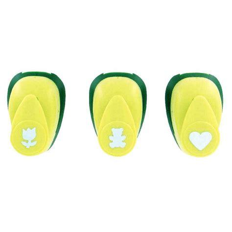 valisette de 3 perforateurs d 233 co assortis motifs f 234 te des m 232 res c ur tulipe ourson