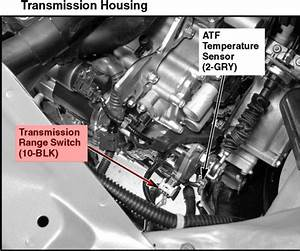 1999 Honda Accord 2 3 Transmission Range Sensor
