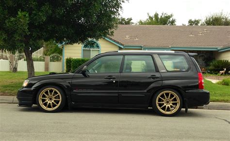 2005 subaru forester slammed image gallery lowered forester
