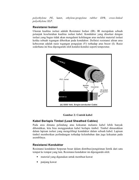 Jenis jenis kawat dan kabel pengantar