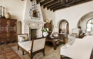 Spanish Decor Living Room by Lake Conroe Spanish Mediterranean Living Room Austin
