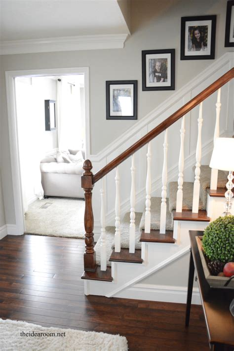 new banisters how to stain an oak banister new nursery