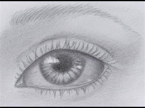 Como dibujar un ojo realista paso a paso Imagui