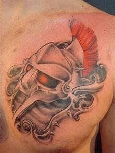 Gladiator Helmet : Tattoos