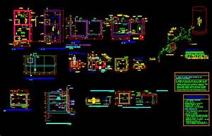 Water Cistern Project DWG Full Project for AutoCAD