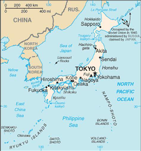 travelblog map  japan
