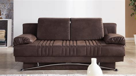 fantasy chocolate convertible sofa bed by sunset