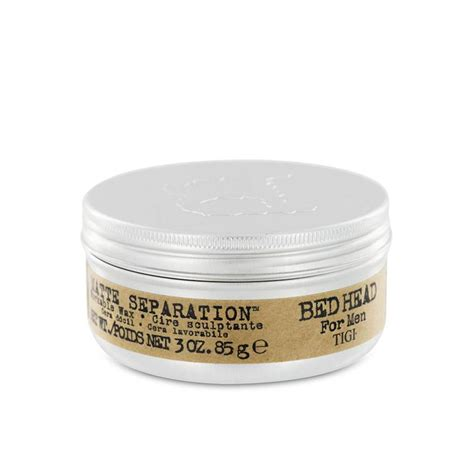 tigi bedhead for men matte separation workable wax hair