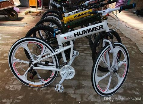 26 Inch Folding Bike Mountain Bicycle 21 Speed Disc Brakes ...