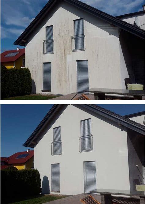 Fassade Reinigen Vor Anstrich by Fassadenreinigung In Rostock Mit Den Steinreinigern 174